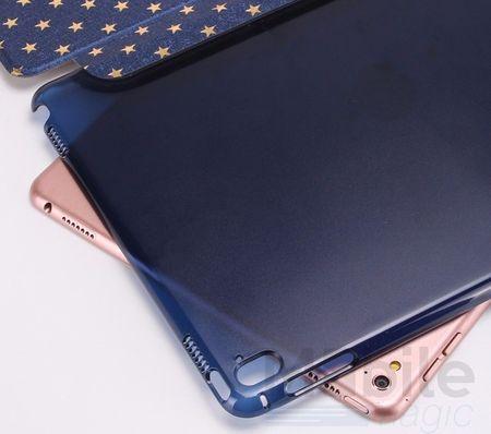 "iPad Pro 9.7"" Luxus Stars Smart Sterne Etui Tasche Hülle BLAU – Bild 5"