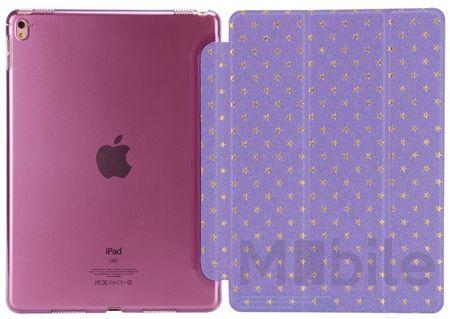 "iPad Pro 9.7"" Luxus Stars Smart Sterne Etui Tasche Hülle LILA VIOLETT – Bild 5"