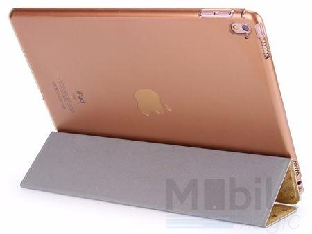 "iPad Pro 12.9"" Luxus Stars Smart Sterne Etui Tasche Hülle GOLD – Bild 2"