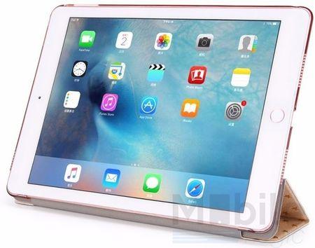 "iPad Pro 12.9"" Luxus Stars Smart Sterne Etui Tasche Hülle GOLD – Bild 5"