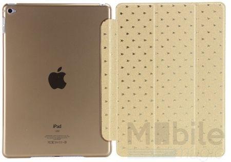 iPad Mini 4 Luxus Stars Smart Sterne Etui Tasche Hülle GOLD – Bild 5
