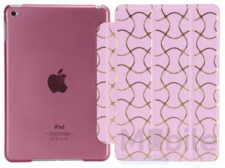 iPad Air 2 Smart Luxus Etui Tasche Hülle PINK ROSA – Bild 3
