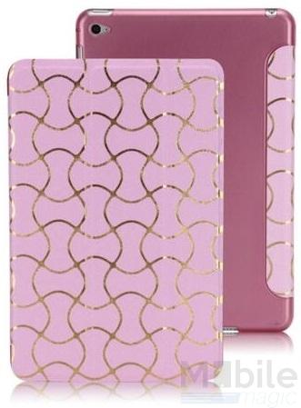 iPad Air 2 Smart Luxus Etui Tasche Hülle PINK ROSA – Bild 5