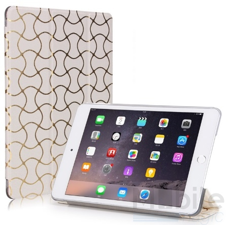 ipad air 2 smart luxus etui tasche h lle weiss. Black Bedroom Furniture Sets. Home Design Ideas