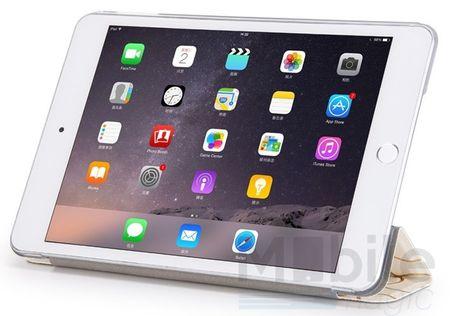 iPad Air 2 Smart Luxus Etui Tasche Hülle WEISS – Bild 4