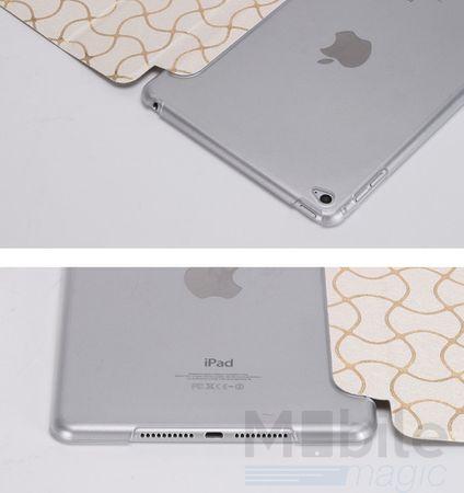 iPad Air 2 Smart Luxus Etui Tasche Hülle WEISS – Bild 6