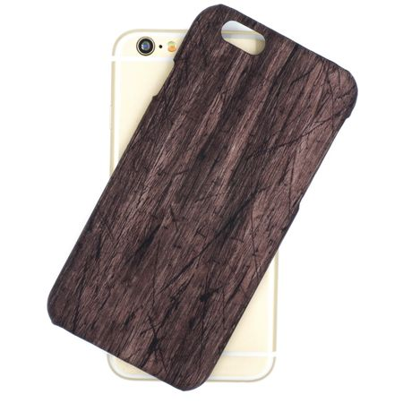iPhone 8 Holz Wood 3D Design Hard Case Cover Hülle – Bild 3
