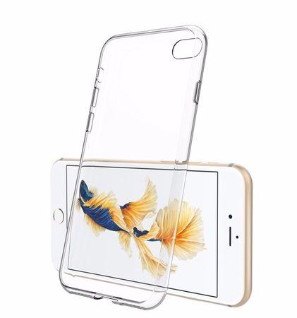 iPhone 8 TPU Gummi Hülle Klar Silikon Crystal Clear Case TRANSPARENT – Bild 2