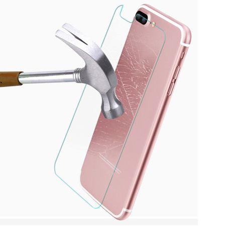 iPhone 8 Front + Back Panzerglas Schutzglas Schutzfolien Folie 1x Vorderseite, 1x Rückseite – Bild 3