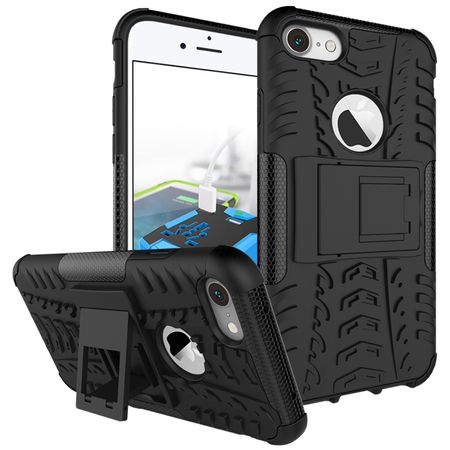 iPhone 8 Hybrid Outdoor Case SCHWARZ – Bild 1