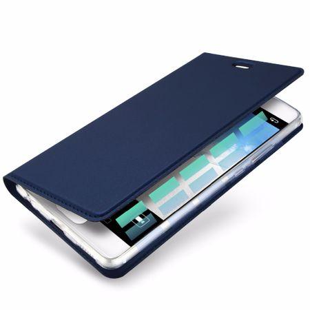Huawei Mate 10 DUX DUCIS Etui Leder Case Hülle mit Kartenfach BLAU – Bild 3