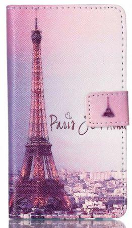 Samsung Galaxy A3 2016 Eiffelturm Paris Leder Etui Tasche Hülle Portemonnaie – Bild 1