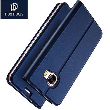 Samsung Galaxy Note 8 DUX DUCIS Etui Leder Case Hülle mit Kartenfach BLAU – Bild 2