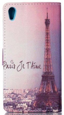 Sony Xperia X Eiffelturm Paris Leder Etui Tasche Hülle Portemonnaie – Bild 2
