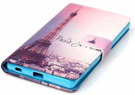 Sony Xperia XA Eiffelturm Paris Leder Etui Tasche Hülle Portemonnaie – Bild 3