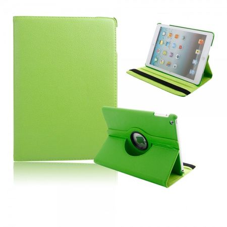 iPad Air 360° Flip Etui Tasche Cover Leder Case GRÜN