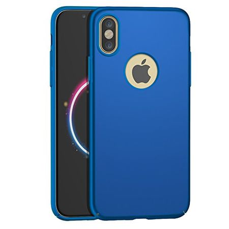 iPhone X Anki Shield Hardcase Cover Case Hülle BLAU – Bild 1