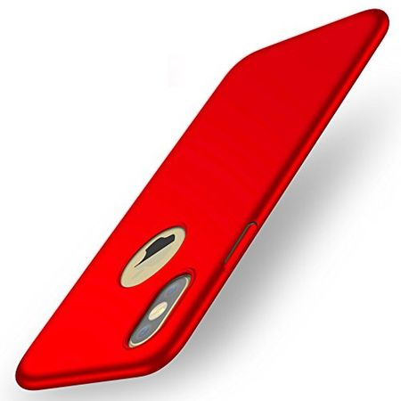 iPhone X Anki Shield Hardcase Cover Case Hülle ROT – Bild 2