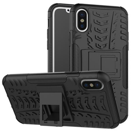 iPhone X Hybrid Outdoor Case SCHWARZ – Bild 1