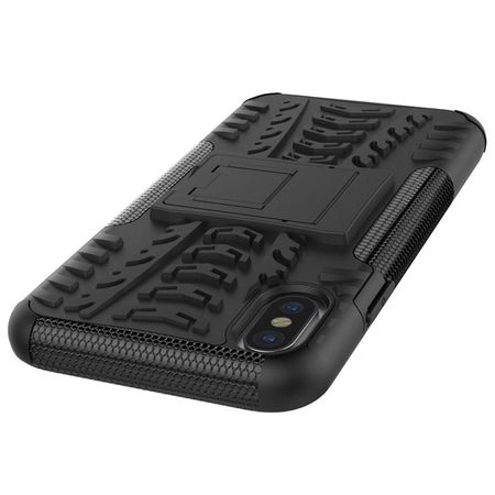 iPhone X Hybrid Outdoor Case SCHWARZ – Bild 4