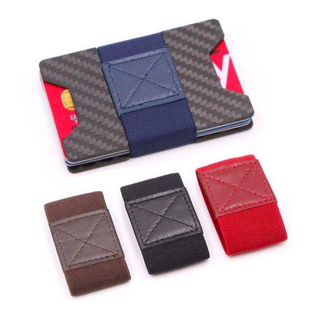 Carbon Kartenhalter Anti RFID Block Portemonnaie – Bild 3