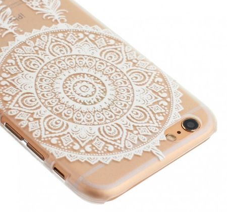 iPhone 6S / 6 Traumfänger Dreamcatcher Gummi TPU Silikon Case TRANSPARENT – Bild 3