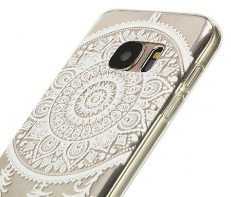Samsung Galaxy S6 Edge Traumfänger Dreamcatcher Gummi TPU Silikon Case TRANSPARENT – Bild 2