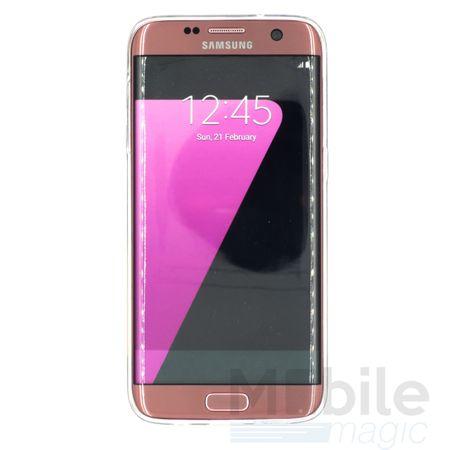 Samsung Galaxy S7 Edge Giraffe Gummi TPU Silikon Case Clear TRANSPARENT – Bild 2