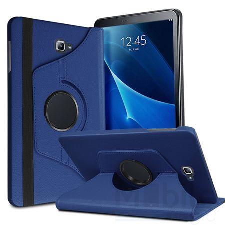Samsung Galaxy Tab A 2016 7.0 Leder Case 360° Etui BLAU