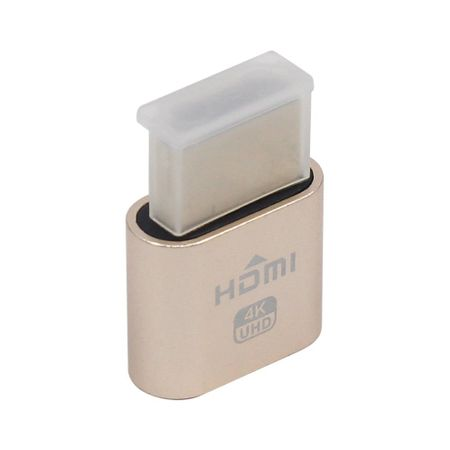 HDMI Dummy Plug Display Emulator 4k Headless Ghost virtueller Bildschirmadapter – Bild 6