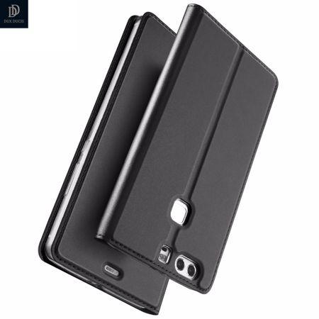 Huawei Mate 10 Pro DUX DUCIS Etui Leder Case Hülle mit Kartenfach SCHWARZ – Bild 2