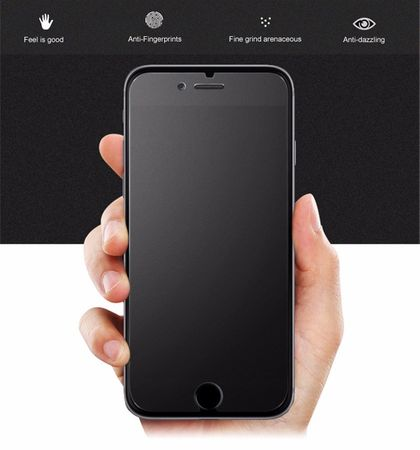iPhone 8 Plus MATT Anti-Glare PANZERGLAS Tempered Glass Schutzglas Glas Schutzfolie – Bild 2
