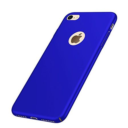 iPhone 8 Plus Anki Shield Hardcase Cover Case Hülle BLAU – Bild 3