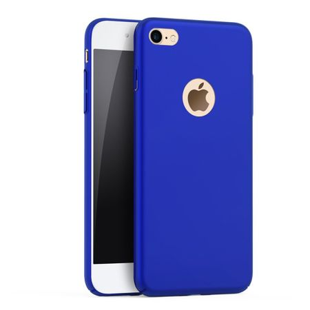 iPhone 8 Plus Anki Shield Hardcase Cover Case Hülle BLAU – Bild 1