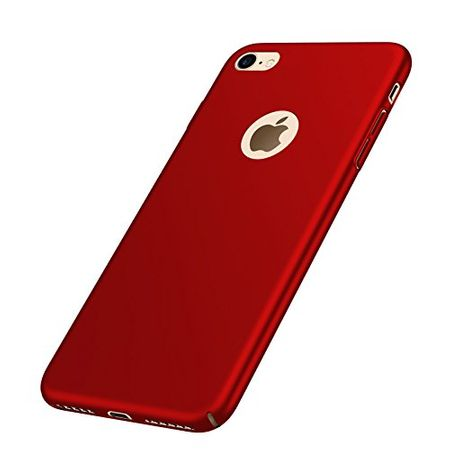 iPhone 8 Plus Anki Shield Hardcase Cover Case Hülle ROT – Bild 3