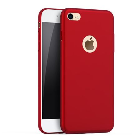 iPhone 8 Plus Anki Shield Hardcase Cover Case Hülle ROT – Bild 1