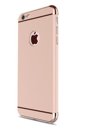 iPhone 8 Plus Anki Royal Hard Case Cover Hülle ROSÉGOLD Pink – Bild 1