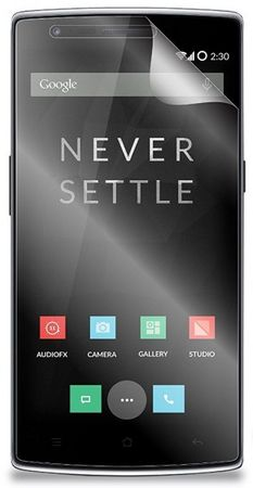 OnePlus 1 One Anti Glare Anti Fingerabdruck Schutzfolie Folie Matt