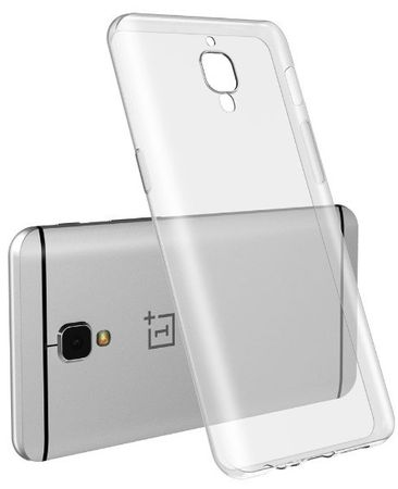 OnePlus 3 Three Gummi TPU Silikon Case CLEAR Transparent – Bild 2