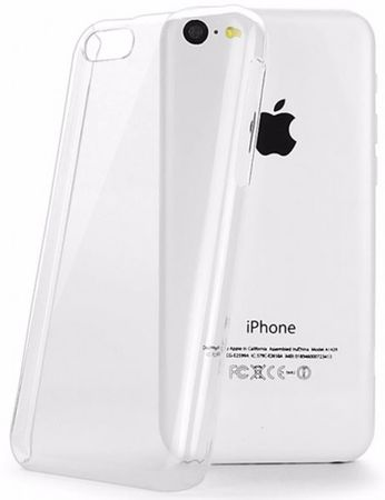 iPhone 5C Gummi TPU Silikon Crystal Clear Case Hülle TRANSPARENT Klar – Bild 1