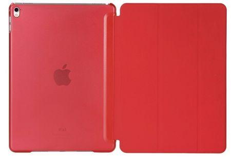 "iPad Pro 12.9"" ""  FullBody Leder Smart Etui Tasche Vorne + Hinten ROT – Bild 4"