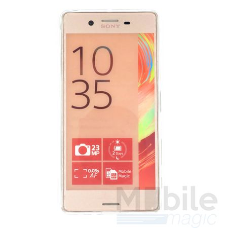 Sony Xperia X Performance Traumfänger Dreamcatcher Gummi TPU Silikon Case TRANSPARENT – Bild 2