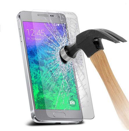 Samsung Galaxy A8 (2018) PANZERGLAS Glas Schutzfolie Schutzglas Tempered Glass 9H – Bild 2
