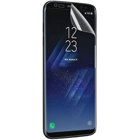 Samsung Galaxy A8 (2018) Schutzfolie ULTRA CLEAR Display Folie Klar