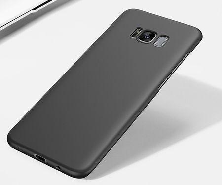Samsung Galaxy A8 (2018) Anki Shield Hardcase Cover Case Hülle SCHWARZ – Bild 2