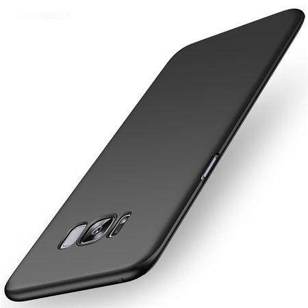 Samsung Galaxy A8 (2018) Anki Shield Hardcase Cover Case Hülle SCHWARZ – Bild 1
