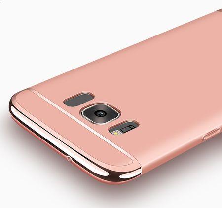 Samsung Galaxy A8 (2018) Anki Royal Hard Case Cover Hülle ROSÉGOLD Pink – Bild 3
