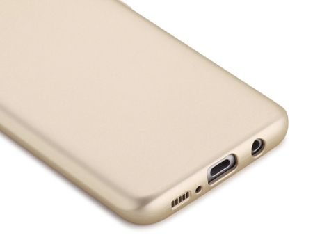 Samsung Galaxy A8 Plus Komplett Schutz Case + Panzerglas Full Protection Cover Hülle GOLD – Bild 3