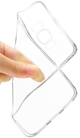 Samsung Galaxy A8 Plus TPU Gummi Hülle Klar Silikon Crystal Clear Case TRANSPARENT – Bild 3