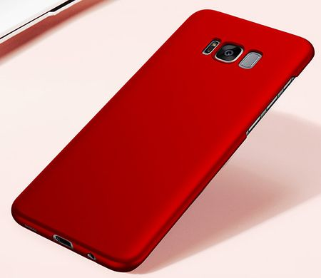 Samsung Galaxy A8 Plus Anki Shield Hardcase Cover Case Hülle ROT – Bild 2